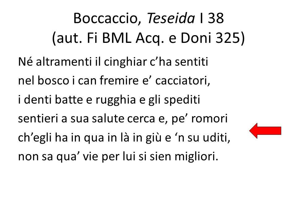 Boccaccio, Teseida I 38 (aut. Fi BML Acq. e Doni 325)