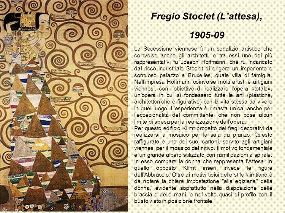 Fregio Stoclet (L'attesa), 1905-09