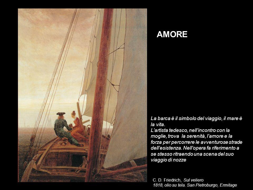 AMORE La barca è il simbolo del viaggio, il mare è la vita.