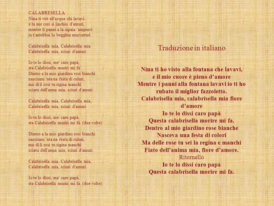 Traduzione in italiano