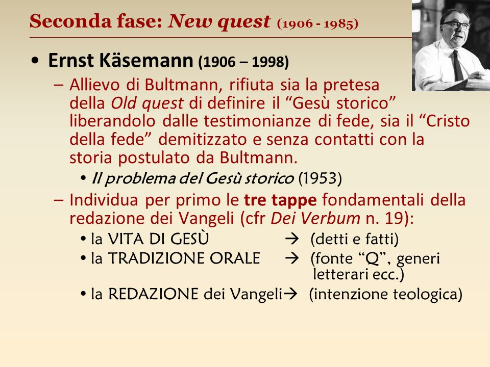Seconda fase: New quest (1906 - 1985) __________________________________________________