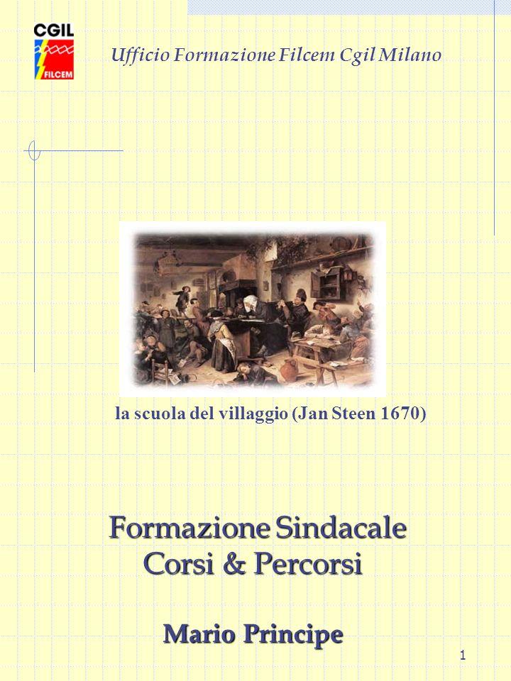 Formazione Sindacale Corsi & Percorsi Mario Principe