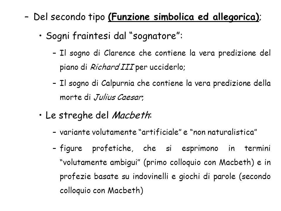 Del secondo tipo (Funzione simbolica ed allegorica);