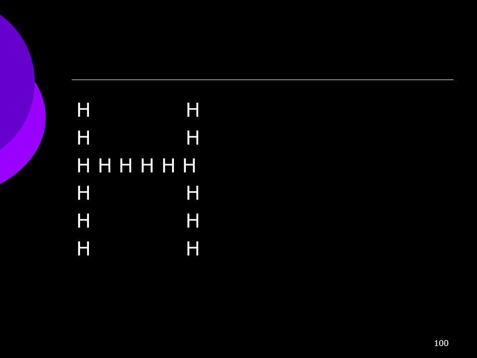 H H H H H H H H