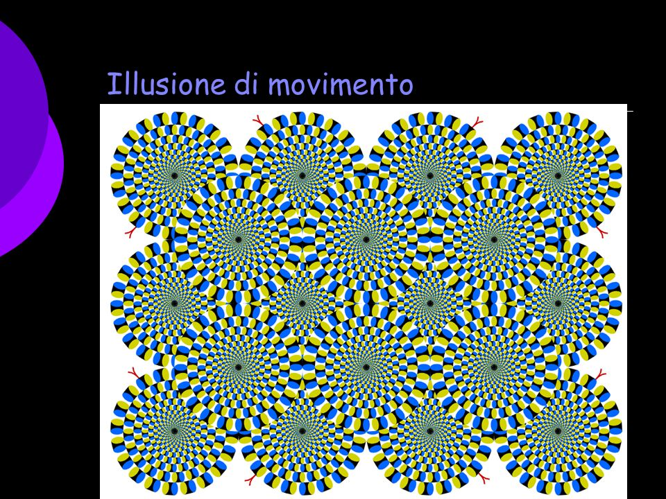 Illusione di movimento