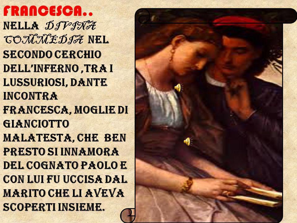 Francesca..