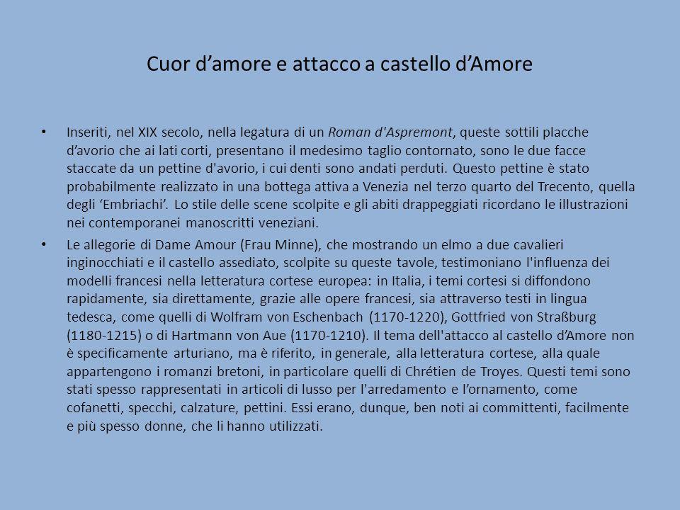 Cuor d'amore e attacco a castello d'Amore