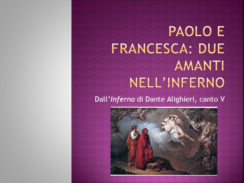 Paolo e Francesca: due amanti nell'inferno