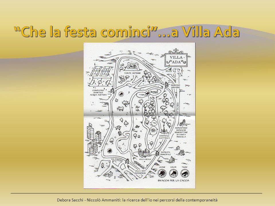 Che la festa cominci …a Villa Ada