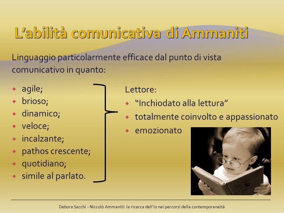 L'abilità comunicativa di Ammaniti