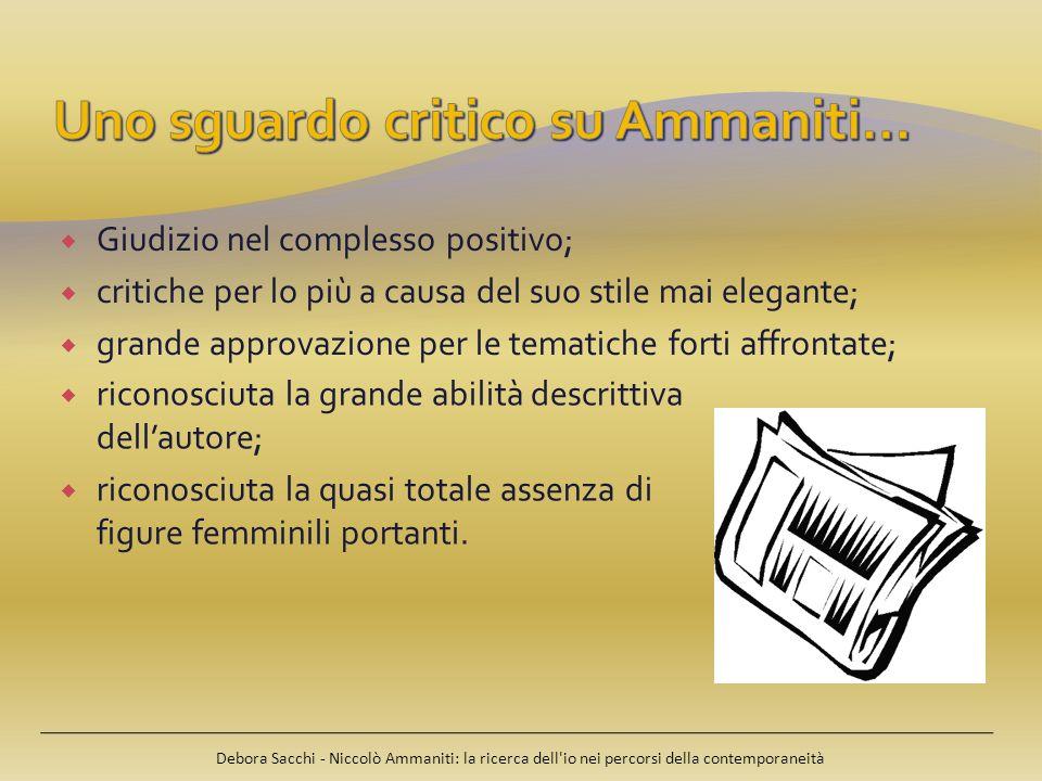Uno sguardo critico su Ammaniti…