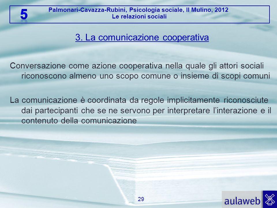 3. La comunicazione cooperativa
