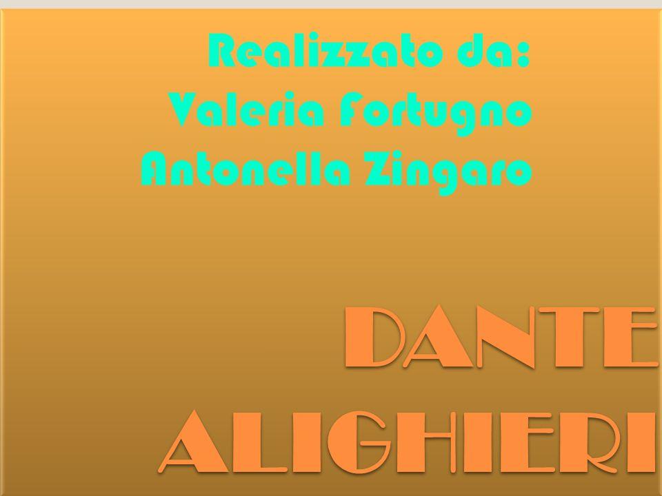 Realizzato da: Valeria Fortugno Antonella Zingaro