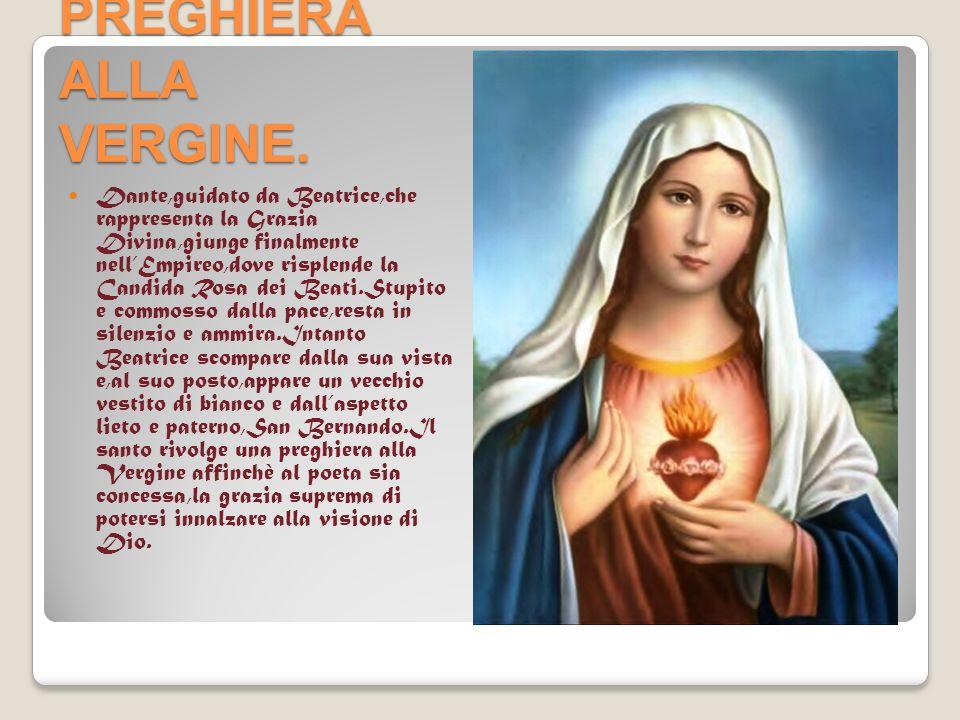 PREGHIERA ALLA VERGINE.