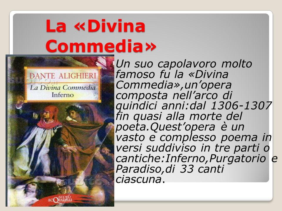 La «Divina Commedia»