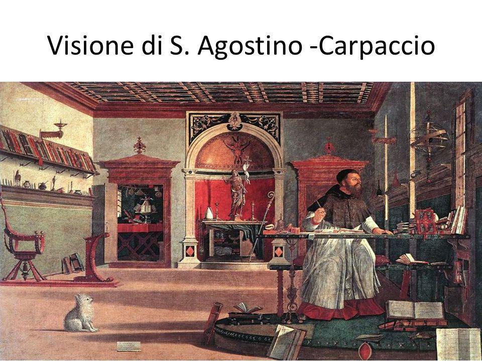 Visione di S. Agostino -Carpaccio
