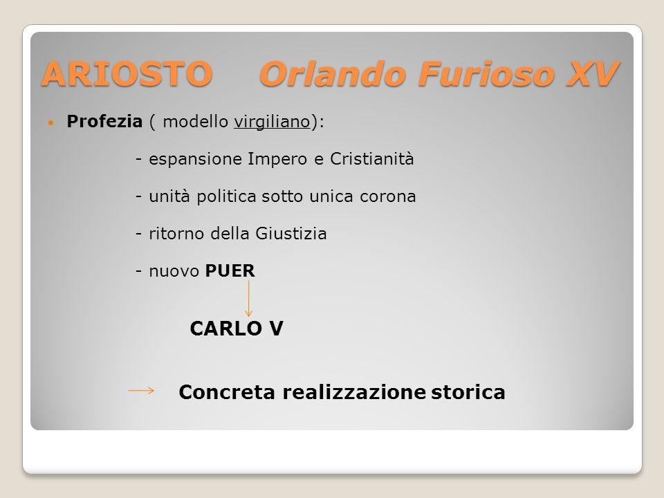ARIOSTO Orlando Furioso XV