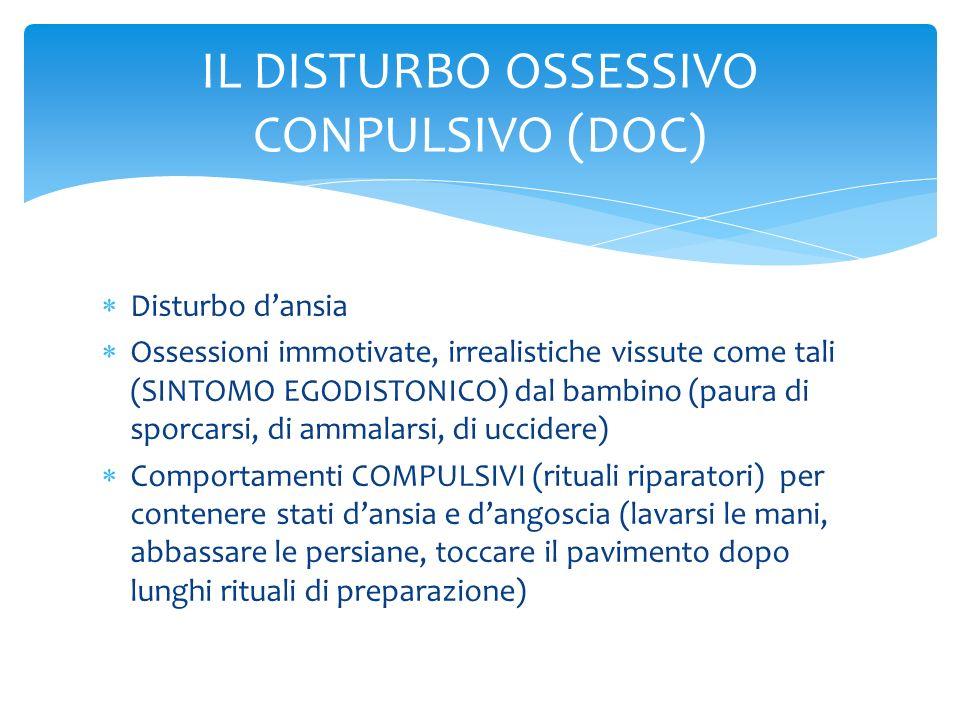 IL DISTURBO OSSESSIVO CONPULSIVO (DOC)