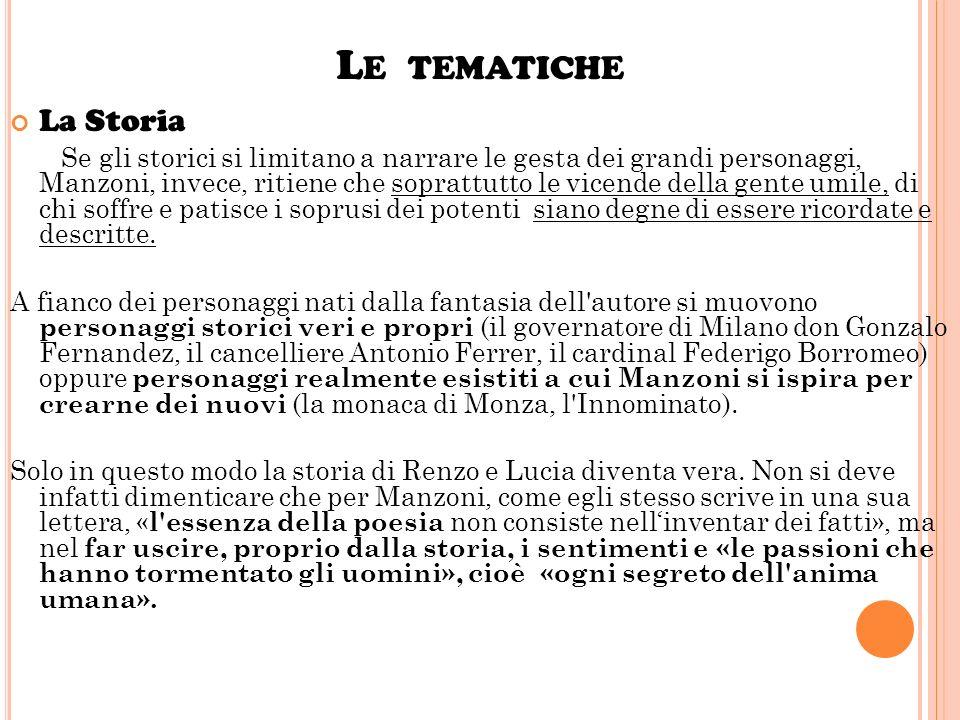 Le tematiche La Storia.