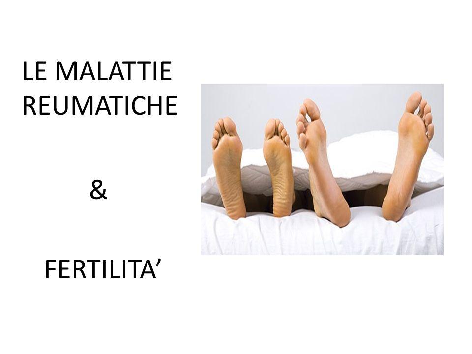LE MALATTIE REUMATICHE & FERTILITA'