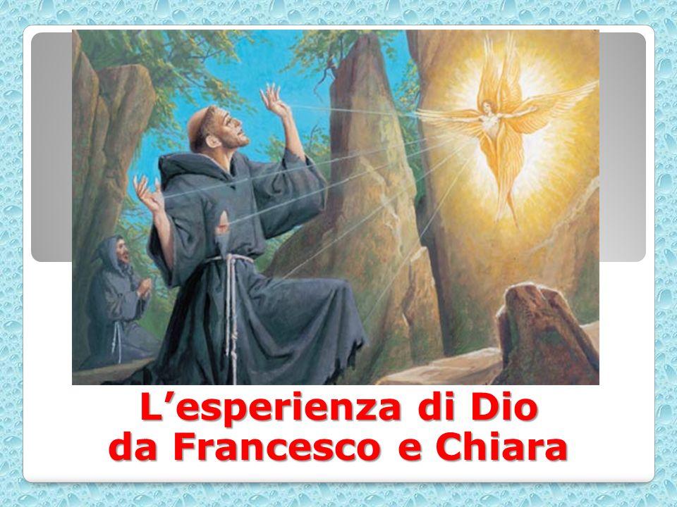 L'esperienza di Dio da Francesco e Chiara