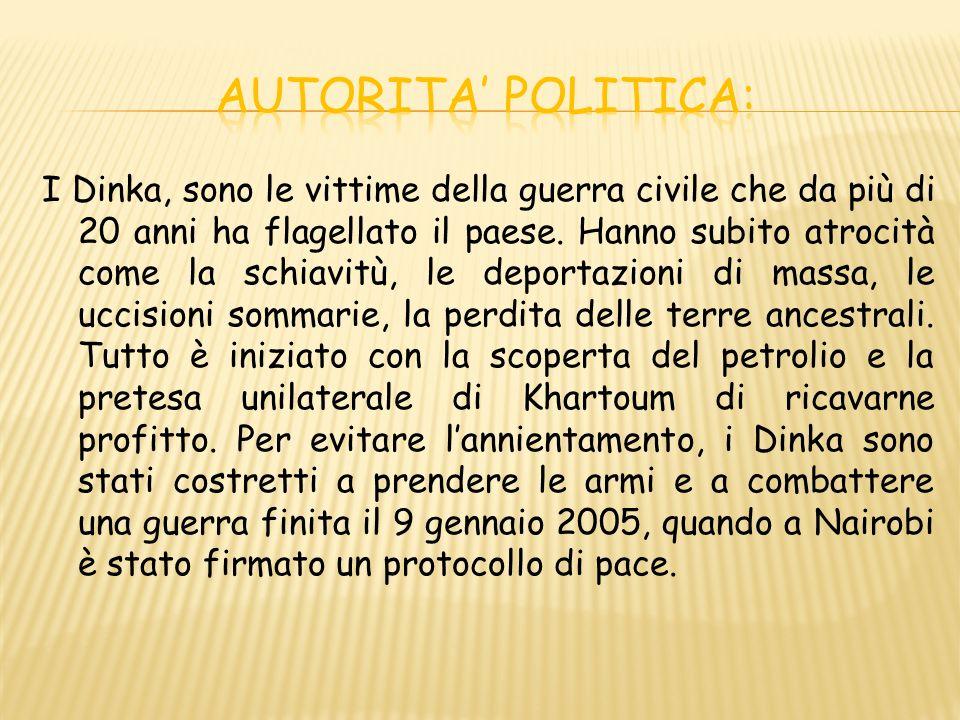 AUTORITA' POLITICA: