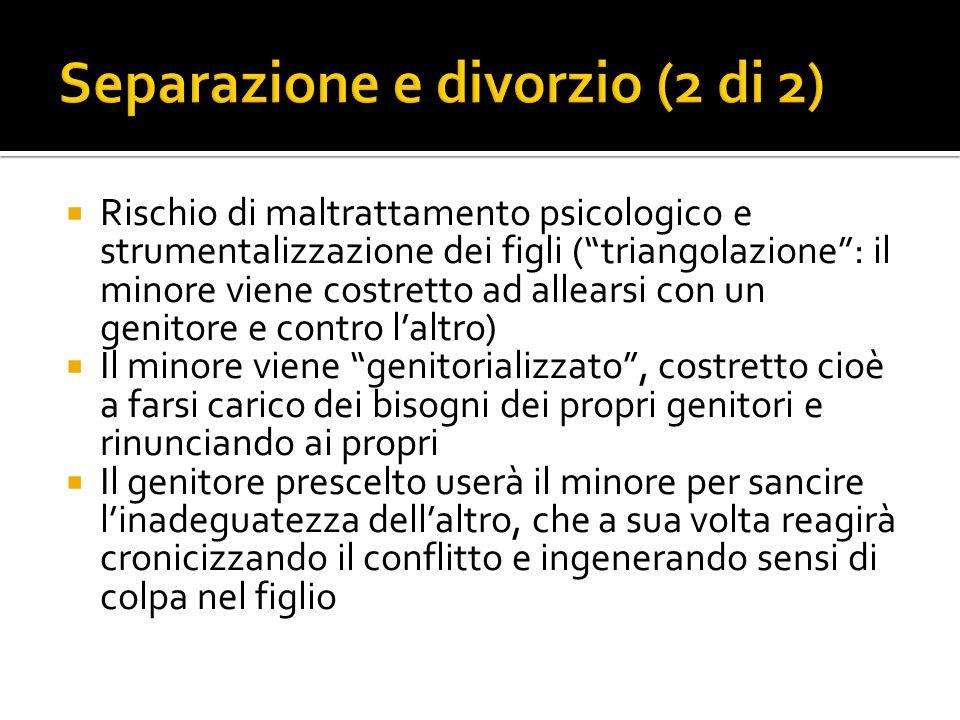 Separazione e divorzio (2 di 2)
