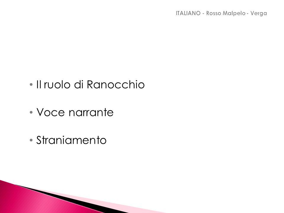 ITALIANO - Rosso Malpelo - Verga