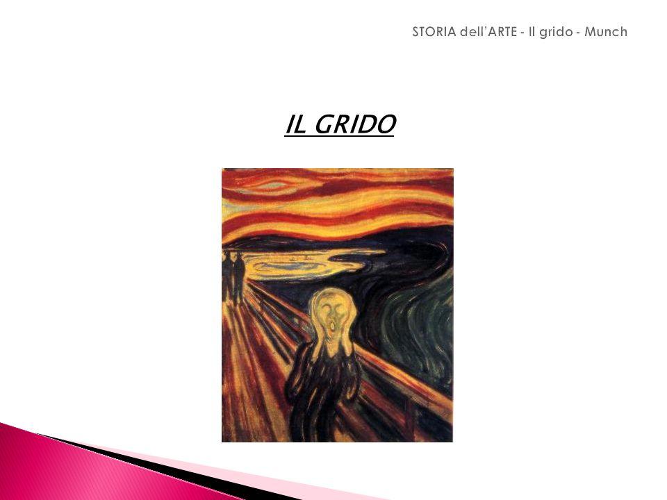 STORIA dell'ARTE - Il grido - Munch