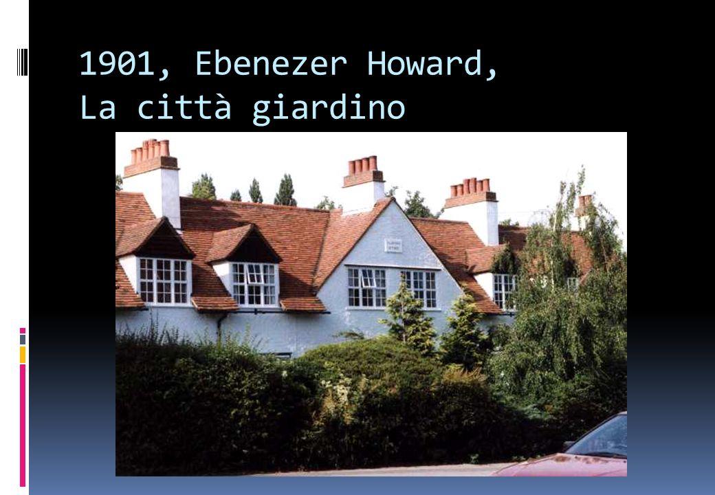 1901, Ebenezer Howard, La città giardino