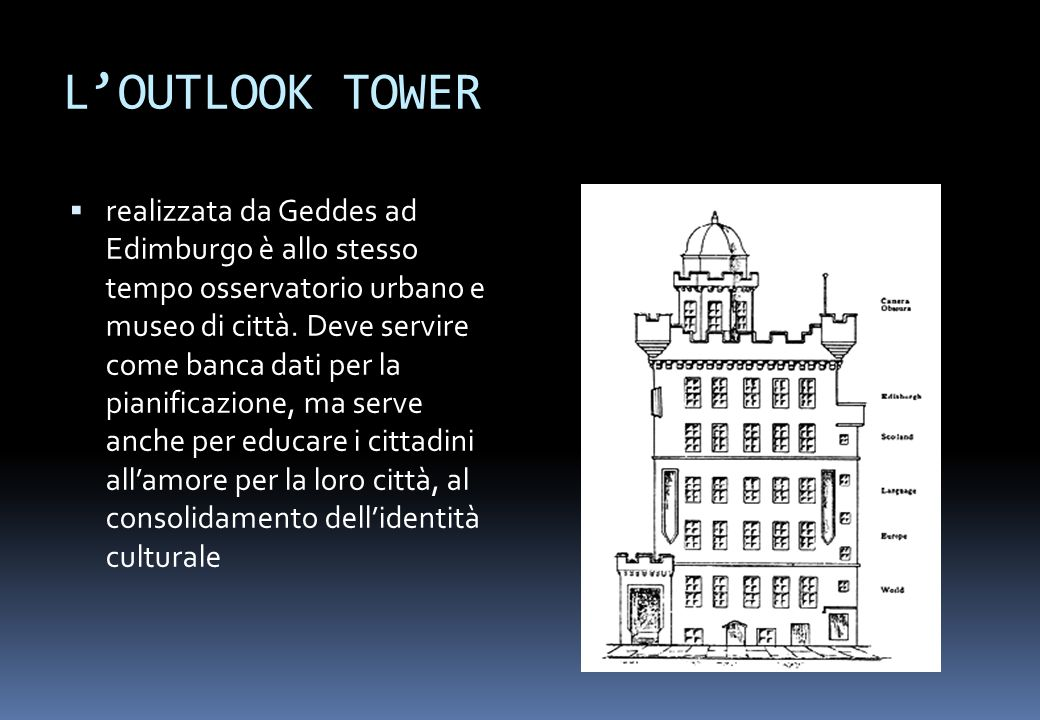 L'OUTLOOK TOWER