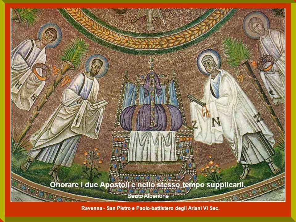 Ravenna - San Pietro e Paolo-battistero degli Ariani VI Sec.