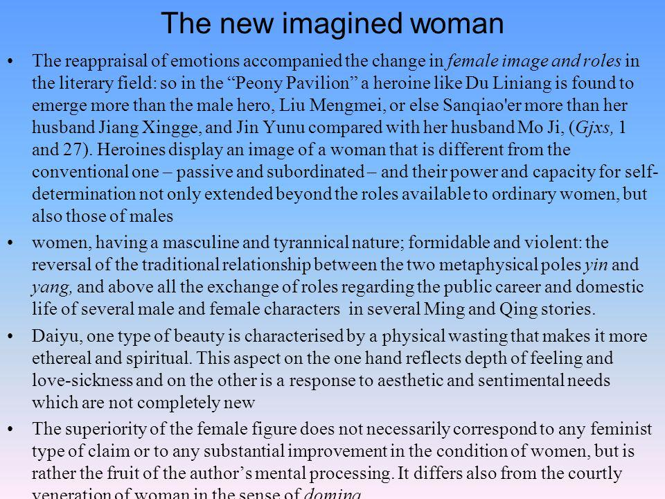 The new imagined woman