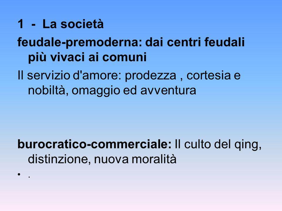 feudale-premoderna: dai centri feudali più vivaci ai comuni