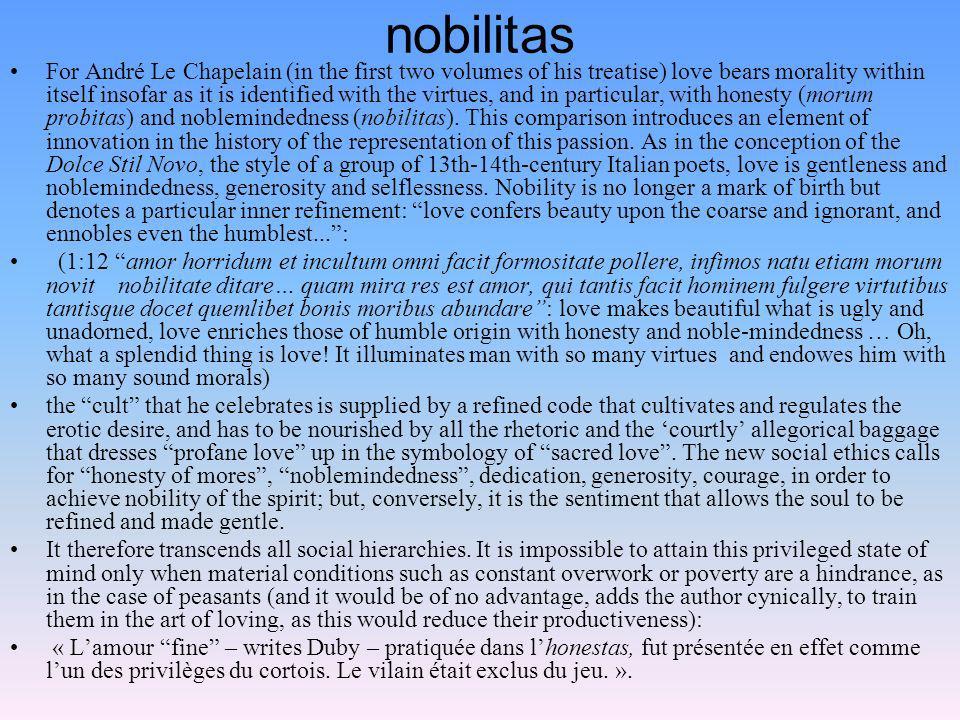 nobilitas