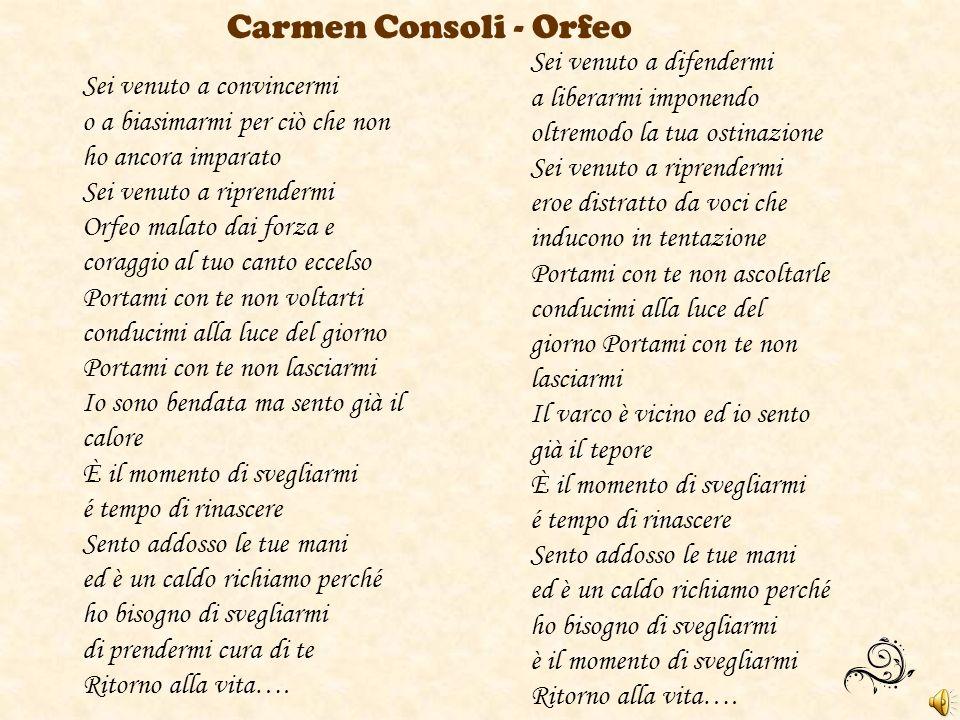 Carmen Consoli - Orfeo