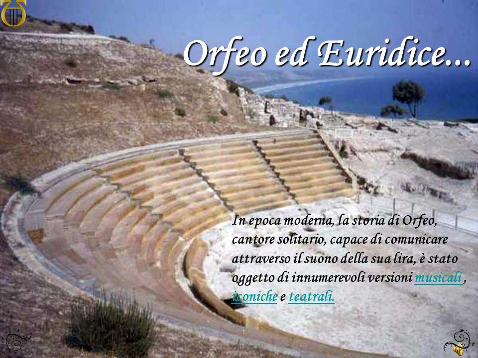 Orfeo ed Euridice...
