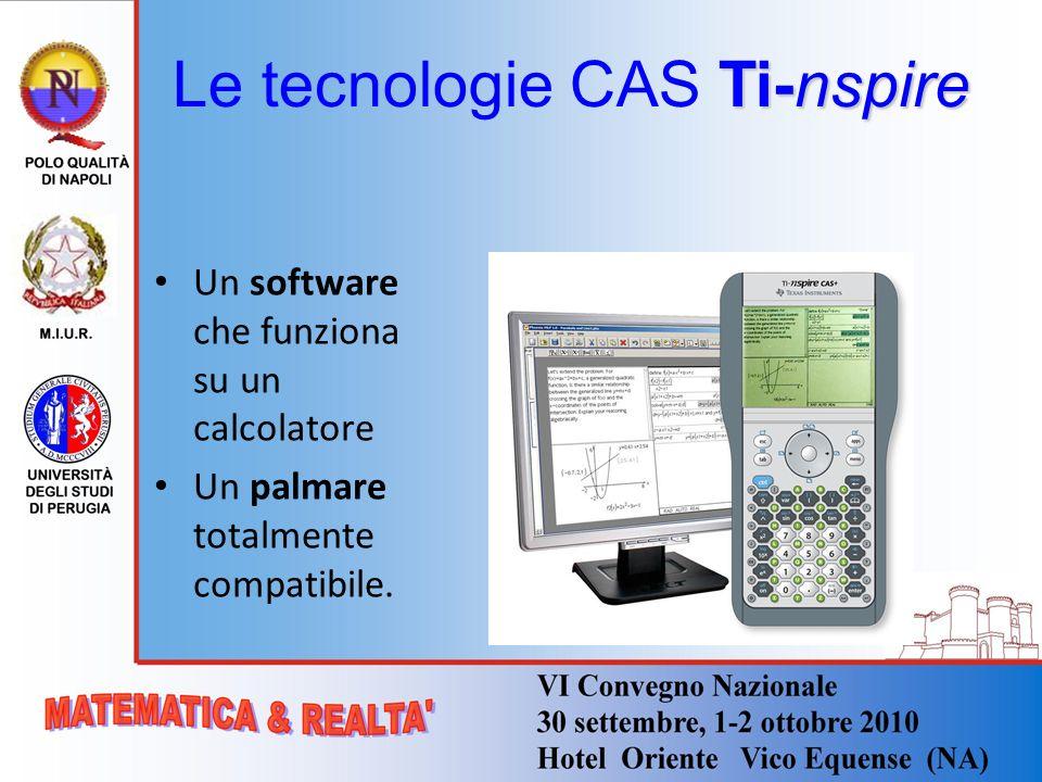 Le tecnologie CAS Ti-nspire