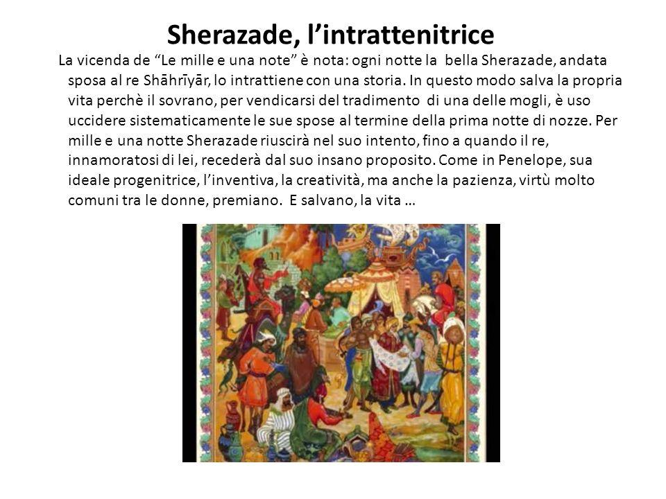 Sherazade, l'intrattenitrice