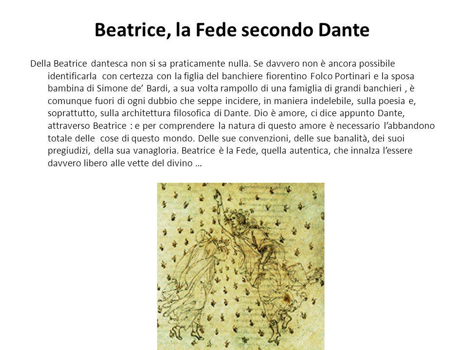 Beatrice, la Fede secondo Dante