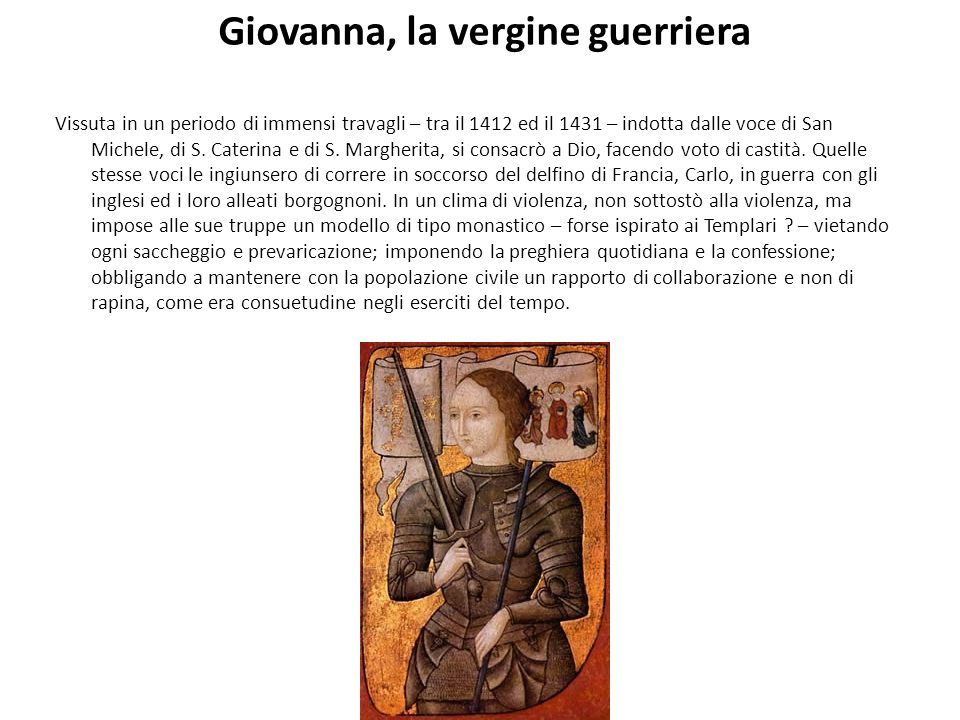 Giovanna, la vergine guerriera