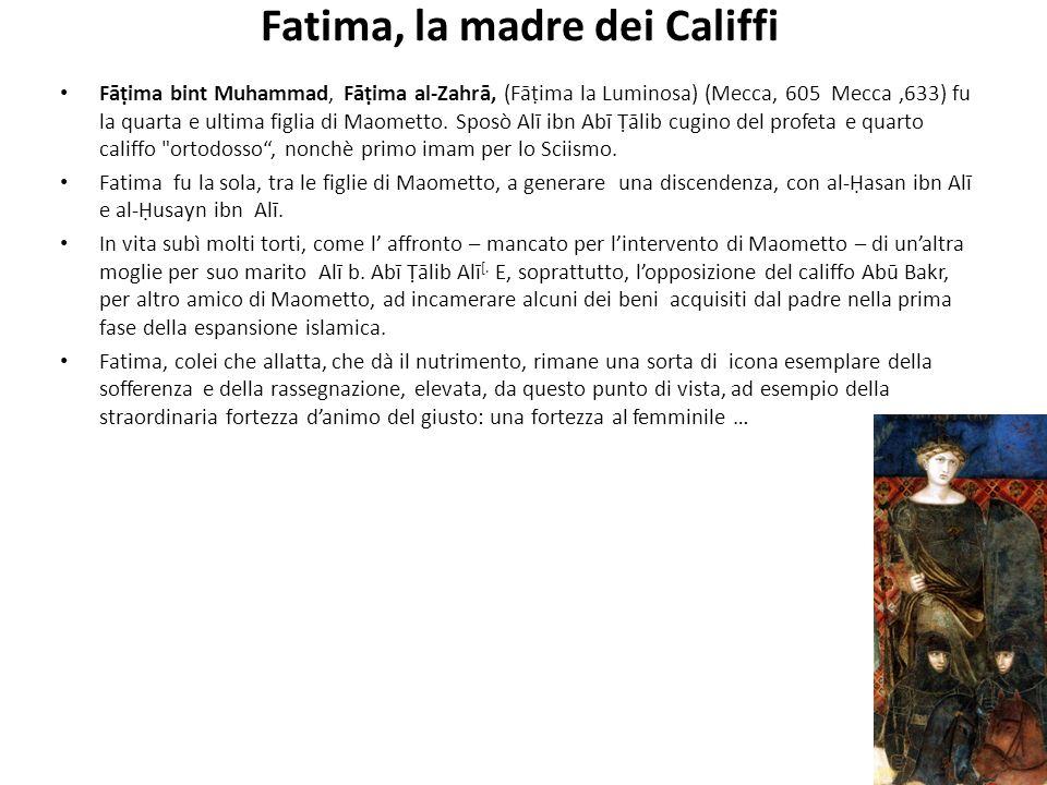 Fatima, la madre dei Califfi