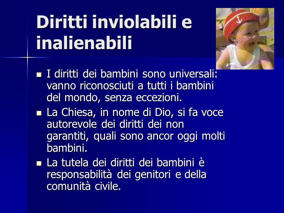 Diritti inviolabili e inalienabili