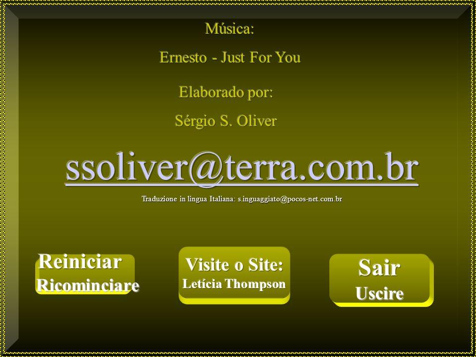 Traduzione in lingua Italiana: s.inguaggiato@pocos-net.com.br