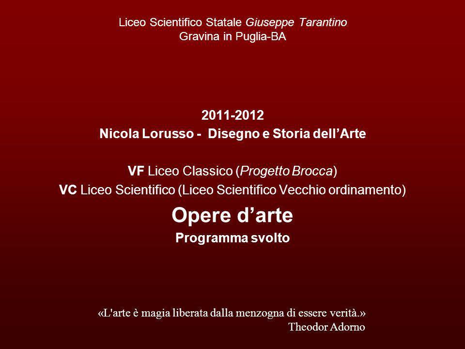 Liceo Scientifico Statale Giuseppe Tarantino Gravina in Puglia-BA