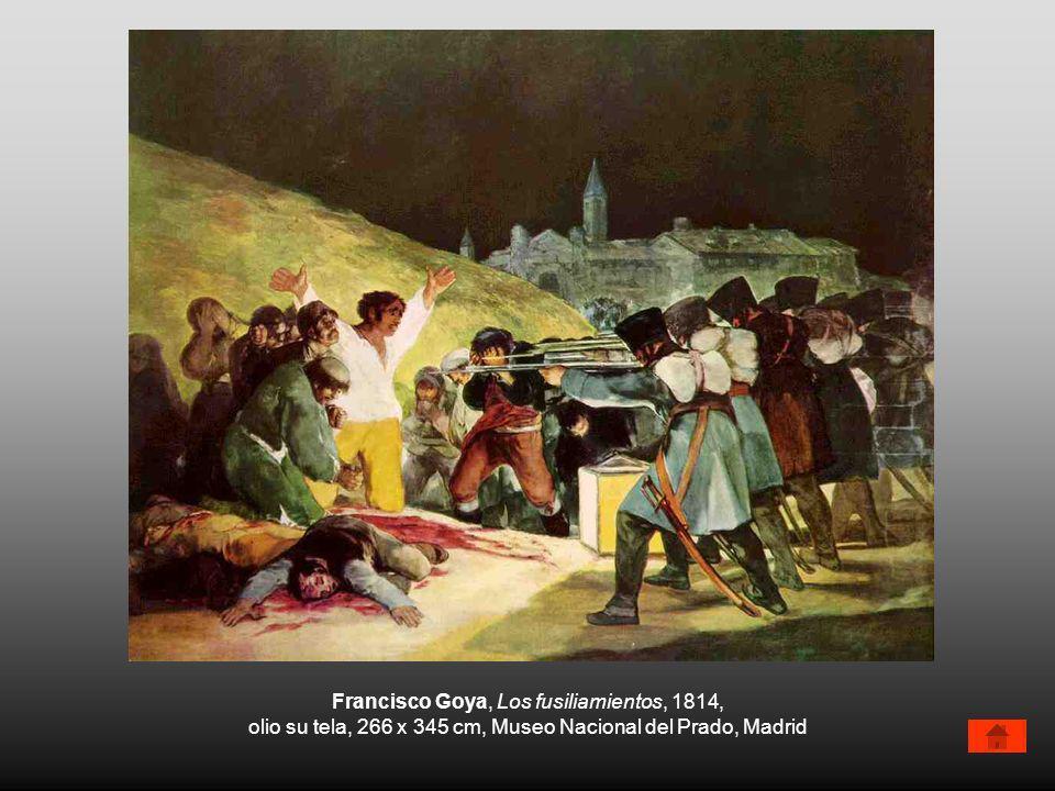 Francisco Goya, Los fusiliamientos, 1814,