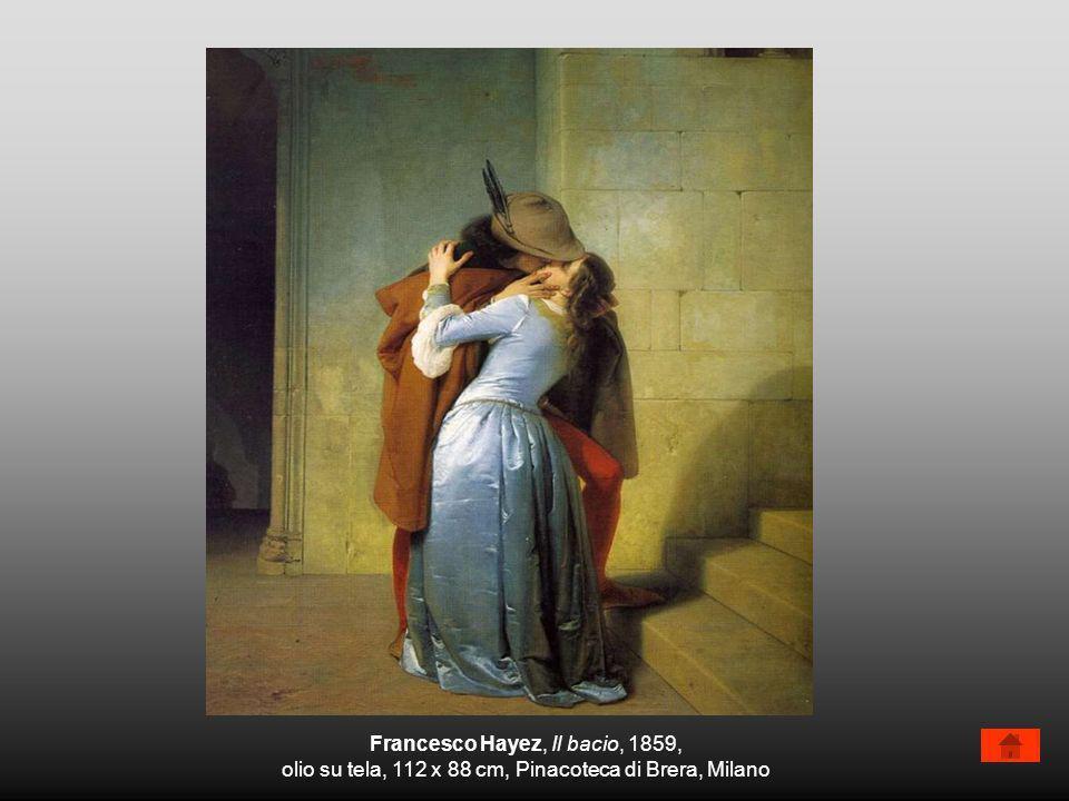 Francesco Hayez, Il bacio, 1859,