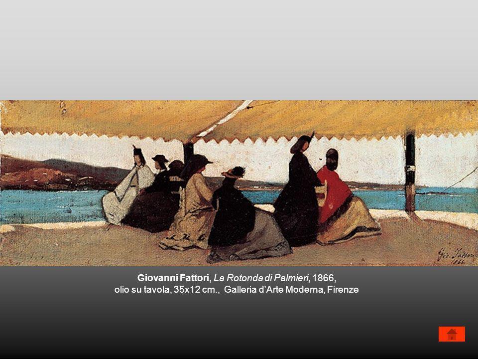 Giovanni Fattori, La Rotonda di Palmieri, 1866,