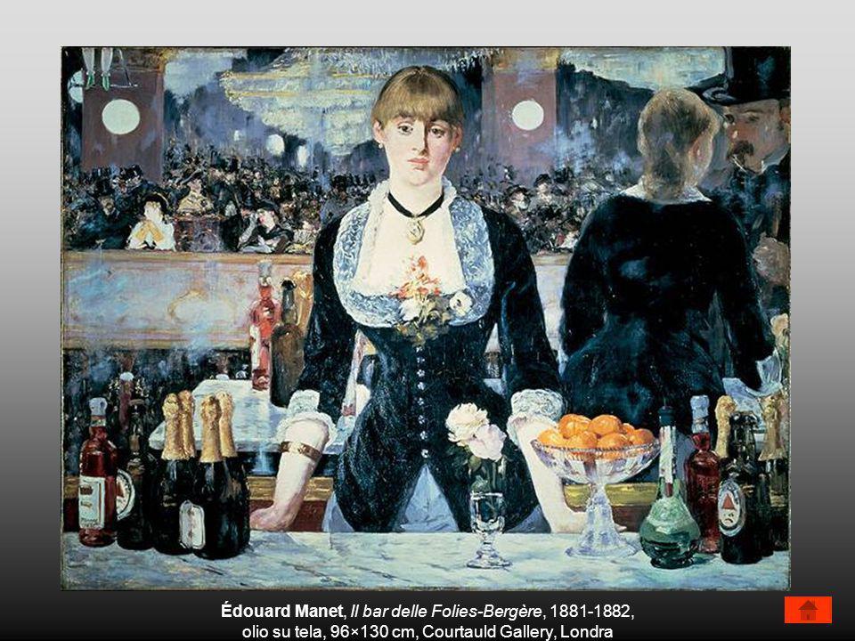 Édouard Manet, Il bar delle Folies-Bergère, 1881-1882,