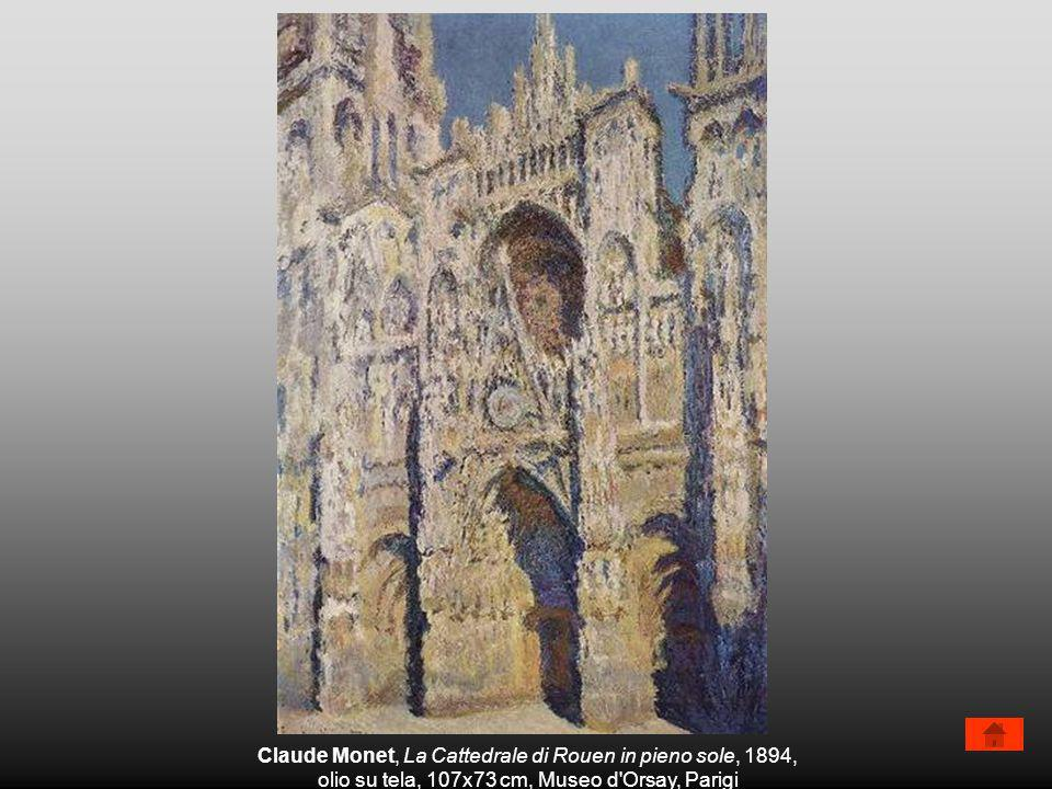 Claude Monet, La Cattedrale di Rouen in pieno sole, 1894,